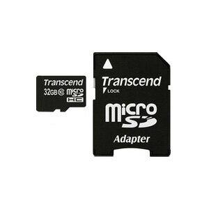【ネコポス便送料無料】【正規国内販売代理店】トランセンド(Transcend) MICRO SDHCカード 32GB class10 TS32GUSDHC10【10P03Dec16】
