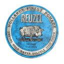 送料無料 REUZEL(ルーゾー) ブルーポマード ストロングホールド 水溶性 340g