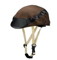 Capor/カポル ヘルメット メイプル ダークブラウン 【自転車】:の画像