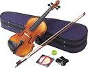 【バイオリン入門セット】Hallstatt V14弓・松脂・ピッチパイプ・他6点入門セット【限定特価】
