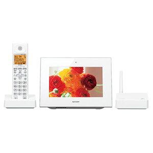 デジタル コードレス シャープ デジタルフォトフレーム インテリア ハンズフリーホン