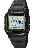 【送料無料】カシオ データバンク スポーツウォッチ 5気圧防水 メンズ デジタル 腕時計(DB09P-4504BKGD)デュアルタイム ストップウォッチ カウントダウンタイマー LEDライト付き ランニングウォッチ カシオ CASIO DATABANK 海外限定 マラソン ランニング ウォッチ 時計
