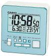 【送料無料】カシオ 電波時計 置時計 デジタル 目覚まし時計 温度 湿度計付き(CL15JA01-BLU)日付・曜日 カレンダー アラーム スヌーズ機能 LEDライト付き カシオ CASIO 電波時計 目覚まし時計