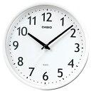 【送料無料】カシオ スタンダード 壁掛け時計 アナログ 掛け時計 アラビア数字 ホワイト 白(SCL16MA12WHT)カシオ CASIO 掛け時計
