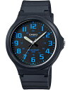 カシオ スポーツウォッチ メンズ 5気圧防水 アナログ 腕時計 ブラック 黒(SDM16JAP-303BKBU)ブルー 青 アラビア数字 24時間表示 ランニングウォッチ CASIO 海外限定 マラソン ランニング 時計 アウトドアウォッチ