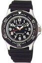 セイコー スポーツウォッチ 10気圧防水 メンズ アナログ 腕時計 ブラック 黒(SK8DC44BL