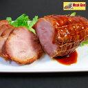 送料無料 江戸っ子焼豚1本350gお肉屋さんの手造り 豚肩ロース焼豚ブロック 【楽ギフ_包装】 】【楽ギフ_のし】チャーシュー( 焼豚(やきぶた) 焼き豚)