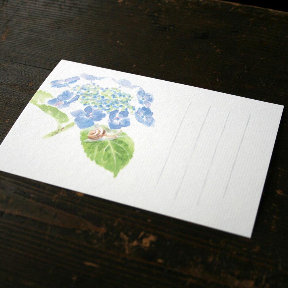 花 折り紙 紫陽花 折り紙 : 季節のはがき_額紫陽花と ...