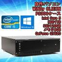 限定1台!★【中古】 デスクトップパソコン WINDy OLIEON PS300 ケース使用 Windows10 Core i5 3470 3.20GHz メモ...