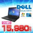 【ワケあり中古】送料無料 (一部地域を除く) DELL LATITUDE E5510【Core i3搭載ノート♪ メモリ4GB 快適 無線LAN対応】