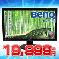 【中古】BenQGL2750−B【超薄型ワイド液晶】【27inch】【ブラック】【HDMIあり】【スピーカーあり】