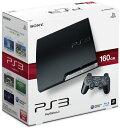【中古】 本体 PS3 プレイステーション3 PlayStation3 HDD160GB チャコール ブラック(CECH-2500A)(20100729)