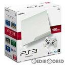 【中古】 本体 PS3 プレイステーション3 PlayStation3 HDD160GB クラシック ホワイト(CECH-3000ALW)(20110908)