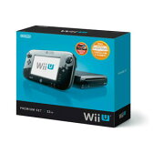 【中古】[訳あり][本体][WiiU]Wii U プレミアムセット 黒 PREMIUM SET kuro(本体メモリー32GB)(WUP-S-KAFC)(20121208)【RCP】