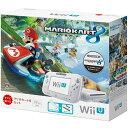 【中古】 本体 WiiU Wii U すぐに遊べる マリオカート8 セット シロ(WUP-S-WAGH)(20141113)