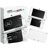 【中古】[本体][3DS]Newニンテンドー3DS LL パールホワイト(RED-S-WAAA)(20150611)【RCP】