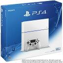 【中古】[本体][PS4]プレイステーション4 PlayStation4 HDD500GB グレイシャー・ホワイト(CUH-1200AB02)(20150627)