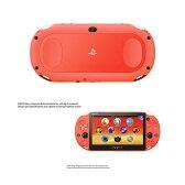 【新品即納】[本体][PSVita]PlayStationVita Wi-Fiモデル ネオン・オレンジ(PCH-2000ZA24)(20150917)【RCP】