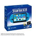 【中古】 本体 PSVita PlayStation Vita Starter Kit(プレイステーション ヴィータ スターターキット) アクア ブルー(PCHJ-10030)(20160303)