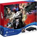 【中古】[箱難あり][本体][PS4]プレイステーション4 1TB PlayStation4 Persona5 Starter Limited Pack(ペルソ...