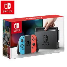 【中古】[本体][Switch]ニンテンドースイッチ Nintendo Switch Joy-Con(L) ネオンブルー/(R) ネオンレッド(HAC-S-KABAA)(20170303)【RCP】