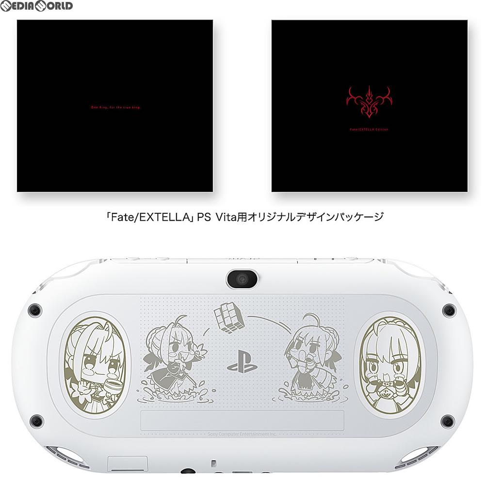 【中古】[本体][PSVita]ソニーストア限定 PlayStationVita Fate/EXTELLA Edition(フェイト/エクステラ エディション)(PCH-2000ZA22/FT)(20161110)