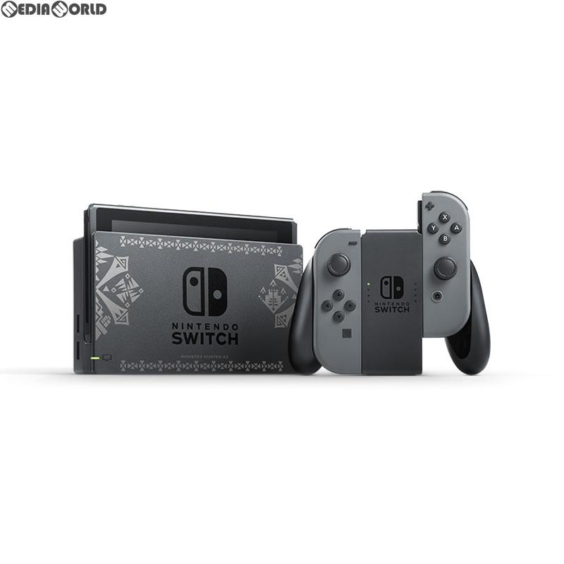 【中古】[本体][Switch]モンスターハンターダブルクロス Nintendo Switch Ver.(ニンテンドースイッチバージョン) スペシャルパック(HAC-S-KCAEB)(20170825)