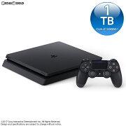 【中古】[本体][PS4]プレイステーション4 PlayStation4 ジェット・ブラック 1TB(CUH-2100BB01)(20170704)