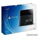 【中古】[本体][PS4]プレイステーション4 PlayStation4 HDD500GB ジェット・ブラック(CUH-1000AB01)(20140222)