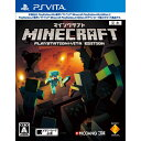 【新品即納】[PSVita]マインクラフト Minecraft: PlayStation Vita Edition(20150319)【RCP】