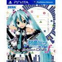 【中古】 PSVita 初音ミク -Project DIVA- f (VLJM-35017)(本体同梱版ソフト単品)(20120830)
