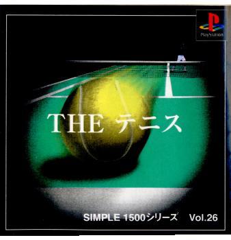 【中古】【表紙説明書なし】[PS]SIMPLE1500シリーズ Vol.26 THE テニス(20000224)