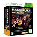 【中古】[Xbox360]BandFuse:Rock Legends(バンドフューズ ロックレジェンド)(ギターケーブル同梱)(20131219)【RCP】