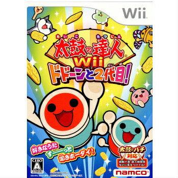 【中古】[Wii]太鼓の達人Wii ドドーンと2代目!(ソフト単品版)(20091119)