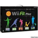 【中古】【表紙説明書なし】[Wii]Wii Fit Plus(Wiiフィット プラス) バランスWiiボード(クロ)セット(20111202)