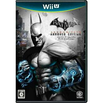 [WiiU] 蝙蝠俠阿卡姆市裝甲版 (裝甲蝙蝠俠阿卡姆市版) (20121208)