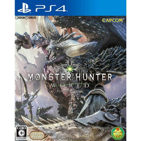 【予約前日発送】[PS4]初回限定特典付(防具「オリジンシリーズ」と「追い風の護石」) MONSTER HUNTER: WORLD(モンスターハンター:ワールド) 通常版(20180126)