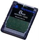 【中古】 ACC PS2 PlayStation2専用メモリーカード(8MB) ゼン ブラック SCE(SCPH-10020BI)(20020801)