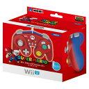 【中古】[ACC][WiiU]ホリ クラシックコントローラー for Wii U / Wii マリオ(WIU-075)(20141206)【RCP】