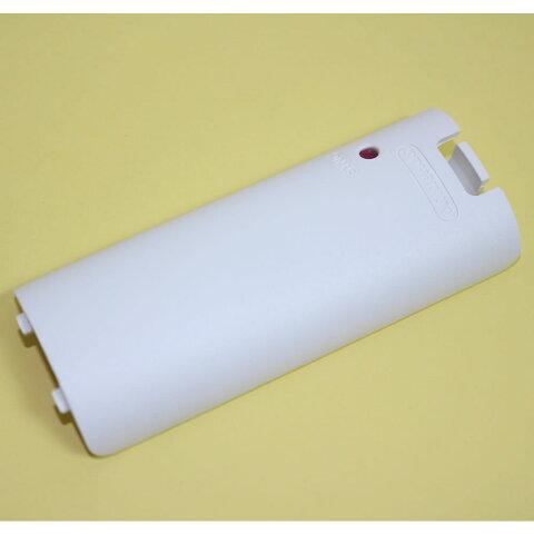 【新品即納】[ACC][WiiU]Wiiリモコン 電池カバー shiro(シロ) 任天堂純正品(RVL-CS(J))(20121208)