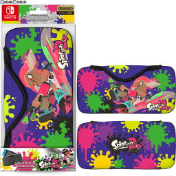 【新品即納】[ACC][Switch]QUICK POUCH COLLECTION for Nintendo Switch Splatoon2 Type-A(スイッチ クイックポーチ スプラトゥーン2) キーズファクトリー(CQP-001-1)(20170721)【RCP】