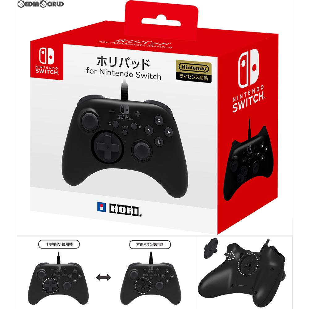 【新品即納】[ACC][Switch]ホリパッド for Nintendo Switch(ニンテンドースイッチ) HORI(NSW-001)(20170713)