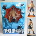 【中古】[FIG]P.O.P Portrait.Of.Pirates ポートガス・D・エース ワンピースシリーズNEO-2 フィギュア メガハウス(20071201)