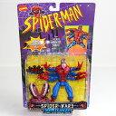 【中古】[FIG]Spider-Man The New Animated Series Spider-Wars Doppleganger(スパイダーウォーズ ドッペルゲンガー) スパイダーマン フィギュア(47183) ToyBiz(トイビズ)(19961231)【RCP】