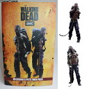 【中古】[FIG]Michonne's Pet Walker Twin Pack(ミショーンのペット・ウォーカー ツイン・パック) THE WALKING DEAD(ウォーキング・デ..