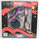 【中古】 FIG SRDX 不知火舞(しらぬいまい) 黒Ver. ザ キング オブ ファイターズ(THE KING OF FIGHTERS) 完成品 フィギュア ユージン(20050130)