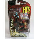 【中古】[FIG]Hellboy With Big Baby(Red)&Abe Sapian(ヘルボーイ ウィズ ビッグベビーレッド&エイブ サピエン) ヘルボーイ2 2インチフィギュア2Pack B.P.R.D.Buddies メズコトイズ(20090626)
