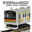 【新品】【O倉庫】 RWM (再販)10-494 205系3000番台八高線色 4両セット Nゲージ 鉄道模型 KATO(カトー)(20180629)