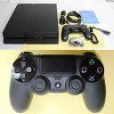 【中古】[訳あり][本体][PS4]プレイステーション4 PlayStation4 HDD500GB ジェット・ブラック(CUH-1200AB01)(20150627)【RCP】