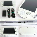 【中古】【訳あり】 本体 PSVita PlayStationVita Wi-Fiモデル クリスタル ホワイト(PCH-1000ZA02)(20120628)